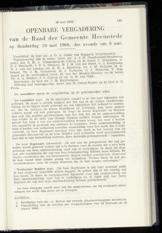 Raadsnotulen Heemstede 1966-05-26