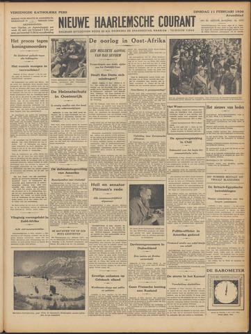 Nieuwe Haarlemsche Courant 1936-02-11