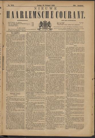 Nieuwe Haarlemsche Courant 1893-02-26