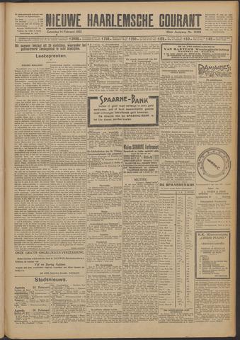 Nieuwe Haarlemsche Courant 1925-02-14