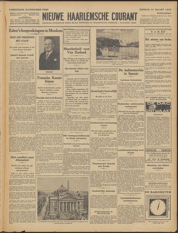 Nieuwe Haarlemsche Courant 1935-03-31