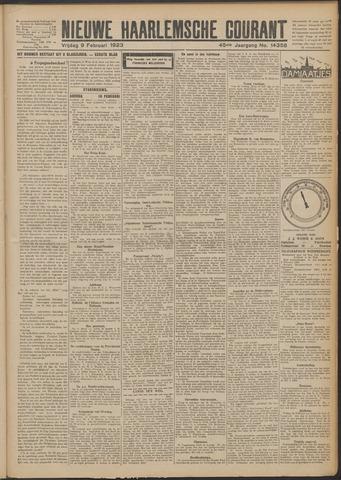 Nieuwe Haarlemsche Courant 1923-02-09