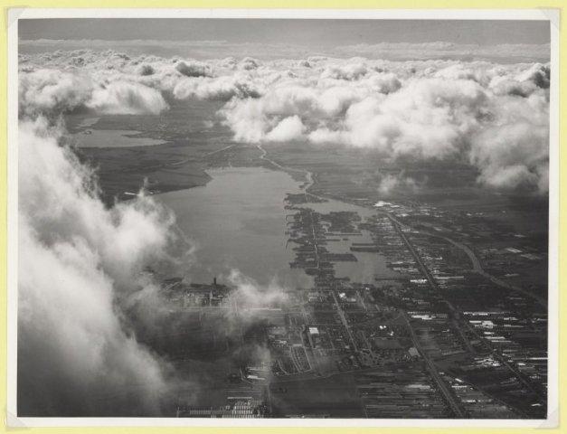 Luchtfoto Westeinder plassen Aalsmeer.
