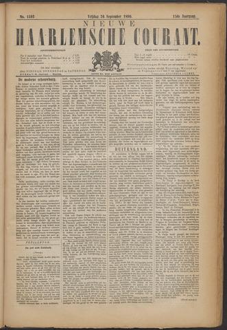 Nieuwe Haarlemsche Courant 1890-09-26