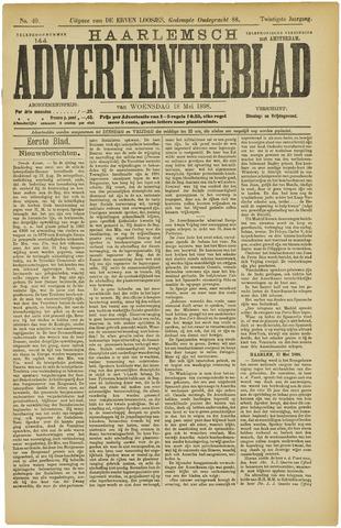 Haarlemsch Advertentieblad 1898-05-18