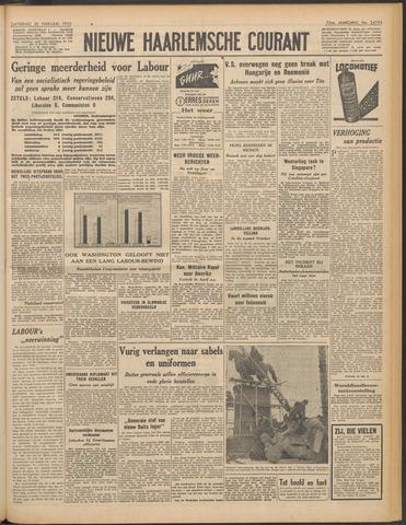 Nieuwe Haarlemsche Courant 1950-02-25