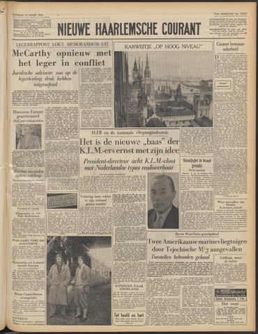 Nieuwe Haarlemsche Courant 1954-03-13