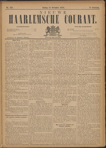 Nieuwe Haarlemsche Courant 1878-12-15