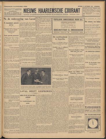 Nieuwe Haarlemsche Courant 1935-09-14