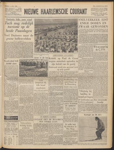 Nieuwe Haarlemsche Courant 1958-04-08