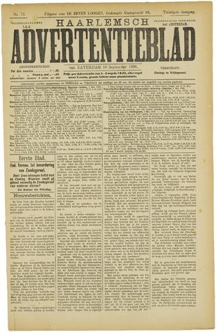 Haarlemsch Advertentieblad 1898-09-10
