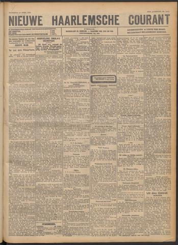 Nieuwe Haarlemsche Courant 1922-04-29