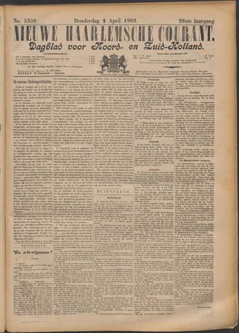 Nieuwe Haarlemsche Courant 1903-04-02