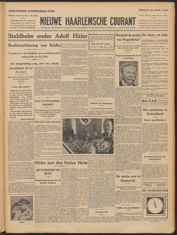 Nieuwe Haarlemsche Courant 1933-04-28