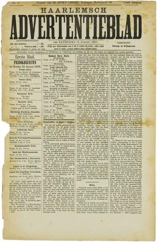 Haarlemsch Advertentieblad 1888-01-21