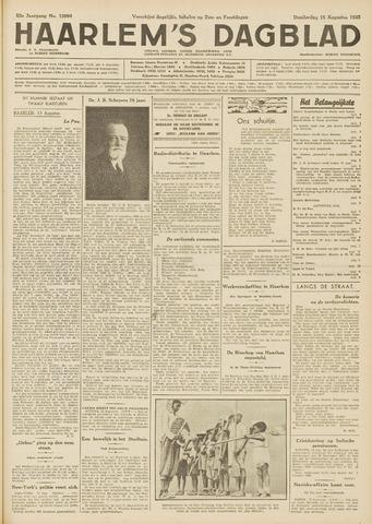 Haarlem's Dagblad 1935-08-15