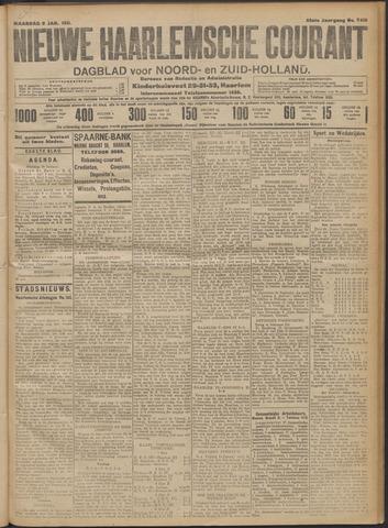 Nieuwe Haarlemsche Courant 1911-01-09