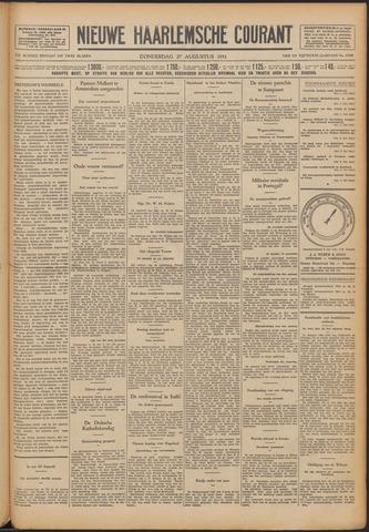 Nieuwe Haarlemsche Courant 1931-08-27