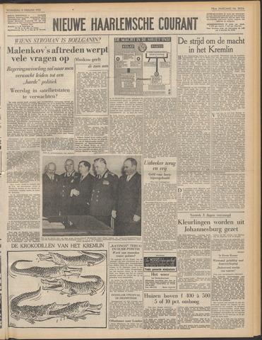 Nieuwe Haarlemsche Courant 1955-02-09