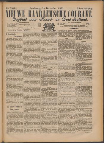 Nieuwe Haarlemsche Courant 1903-12-24