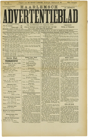 Haarlemsch Advertentieblad 1889-08-10