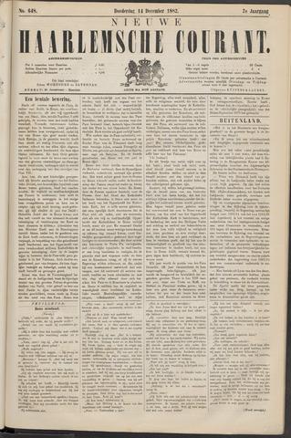 Nieuwe Haarlemsche Courant 1882-12-14