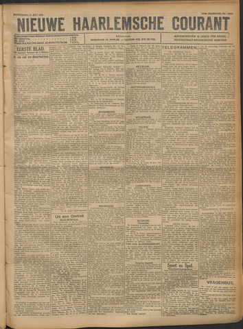 Nieuwe Haarlemsche Courant 1921-07-21
