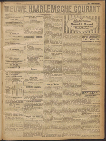 Nieuwe Haarlemsche Courant 1919-03-15