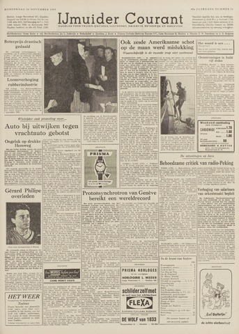 IJmuider Courant 1959-11-26