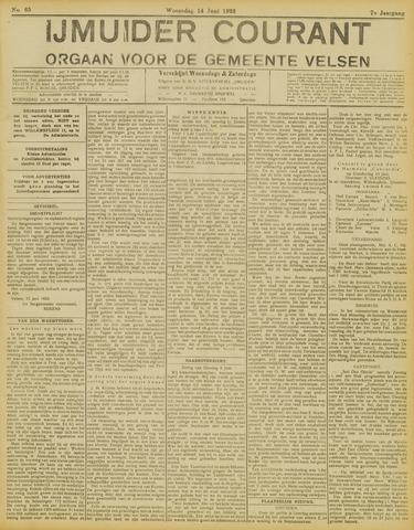 IJmuider Courant 1922-06-14