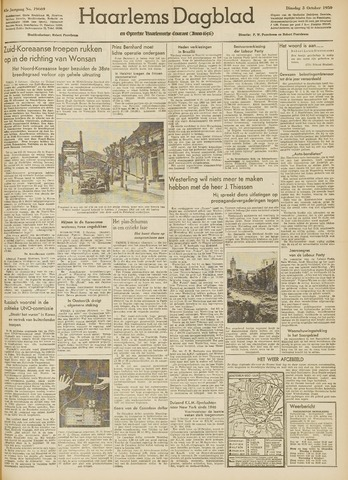 Haarlem's Dagblad 1950-10-03