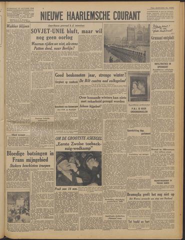 Nieuwe Haarlemsche Courant 1948-10-27