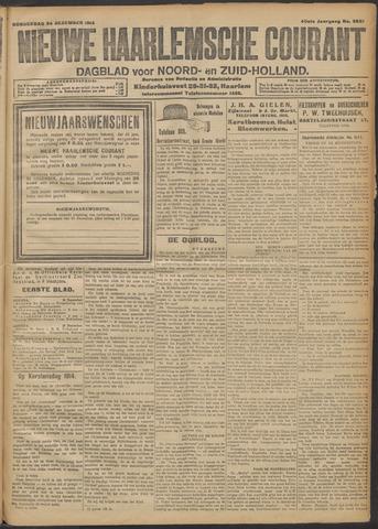 Nieuwe Haarlemsche Courant 1914-12-24