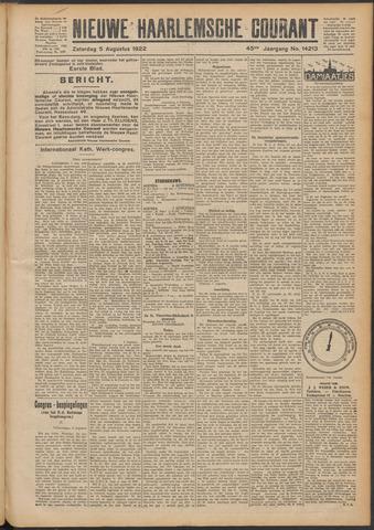 Nieuwe Haarlemsche Courant 1922-08-05