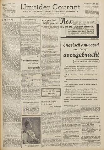 IJmuider Courant 1939-08-31