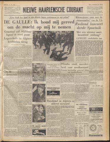 Nieuwe Haarlemsche Courant 1958-05-16
