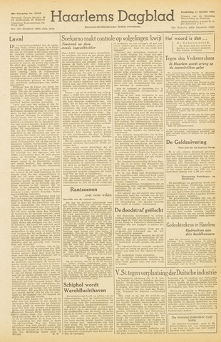 Haarlem's Dagblad 1945-10-11