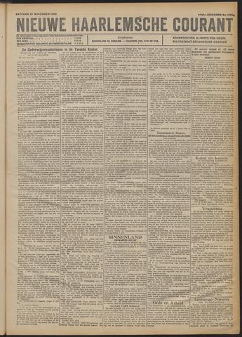 Nieuwe Haarlemsche Courant 1920-11-27