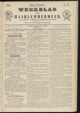 Weekblad van Haarlemmermeer 1883-08-31