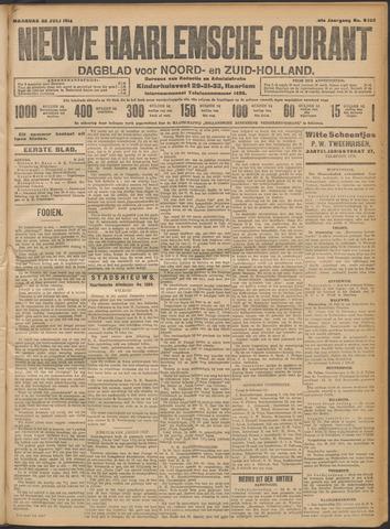 Nieuwe Haarlemsche Courant 1914-07-20
