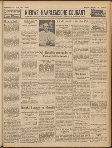 Nieuwe Haarlemsche Courant 1940-11-25