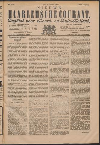 Nieuwe Haarlemsche Courant 1900-02-09