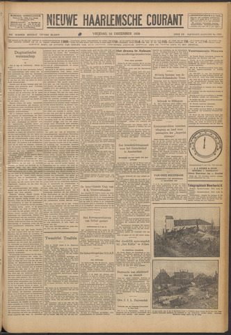 Nieuwe Haarlemsche Courant 1928-12-14