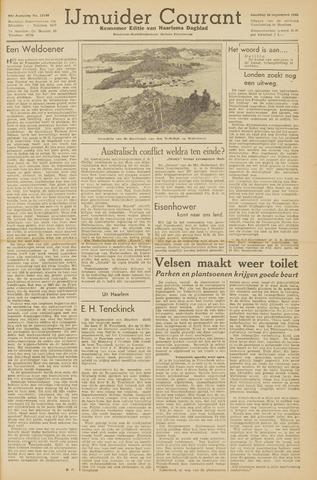 IJmuider Courant 1945-09-29