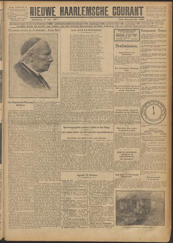 Nieuwe Haarlemsche Courant 1927-10-27