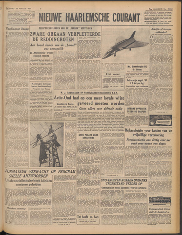 Nieuwe Haarlemsche Courant 1951-02-24