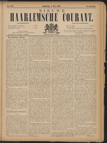 Nieuwe Haarlemsche Courant 1879-05-08