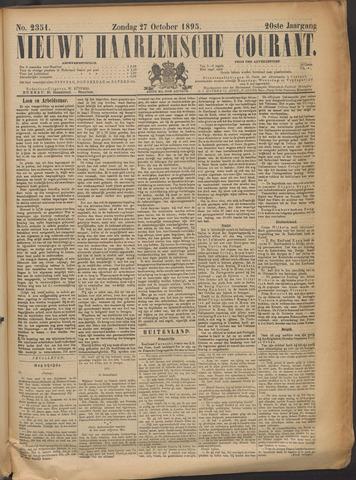 Nieuwe Haarlemsche Courant 1895-10-27