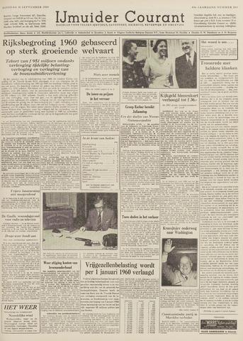 IJmuider Courant 1959-09-15
