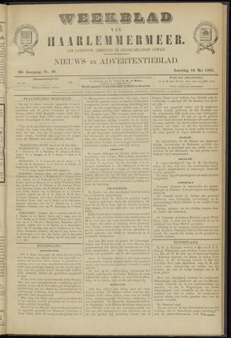 Weekblad van Haarlemmermeer 1885-05-16